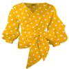 Yellow Polka Dot