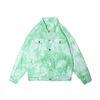 Зеленая куртка