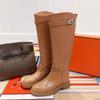 Apricot Long Boots