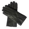 Серые перчатки Кожа-Женщины