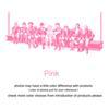 Pink-161cm x 70 cm