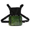 Зеленый сумки на ремне