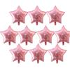 Розовая звезда-10 шт.