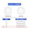 Frame + Wanxin 1.74 Aspheric Lens Power Color, si prega di notare o contattare il servizio clienti