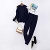 Navy Blue Two Piece