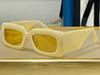 Beyaz Çerçeve Sarı Lens