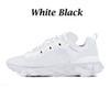 Weiß schwarz