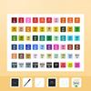 طلاب 60 الألوان