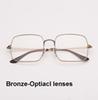 Lentilles de bronze-optique