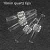 Pontas de quartzo de 10mm