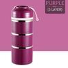 3 Layer Purple
