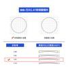 Telaio + Wanxin 1.67 Colore di potenza dell'obiettivo asferico, si prega di notare o contattare il servizio clienti
