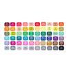 60 couleurs