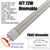 Regulable los 4Ft 72W G13 Tubo cubierta para el