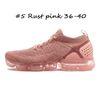 # 5 rose rouille 36-40