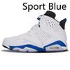 الرياضة الأزرق