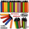 800Puffs (색상 랜덤)