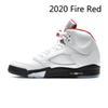 2020 النار حمراء