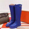 Blue Long Boots
