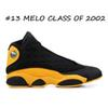 # 13 Melo Class of 2002