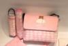 حقيبة وردية