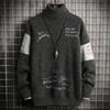 Maglione grigio uomo 2
