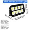 USA المالية 400W أضواء LED الفيضانات