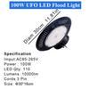 USA المالية 100W أضواء LED UFO
