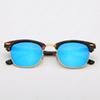 Miroir bleu tortue