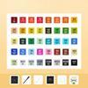 طلاب 40 الألوان