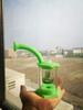 verde con cacharro de cuarzo