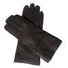 Темно-коричневый-Женские перчатки