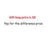 Paga per la tassa del sacchetto regalo