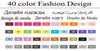 40 diseños de vestuario