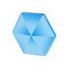 블루 - 육각형