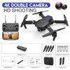 Schwarz 4K Doppelkamera + Portable Tasche