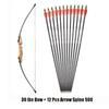 30 Lbs Bow 12 Arrow