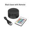 Remote ile Siyah tabanı