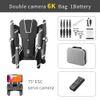 6K مزدوجة حقيبة كاميرا + + حقيبة محمولة