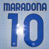 20 21 Napoli away Maradona font