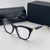 Black frame Clear lenses