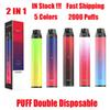 Puff DDDouble Colors Mezcly