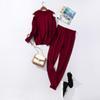 Burgundy Sweater Set