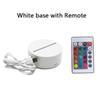 Remote ile Beyaz taban