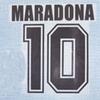 86 Argentina home Maradona font