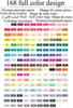 168 colores