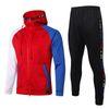 Hoodie Jacket Paris Vermelho