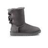 # 9 caviglia grigio due fiocco