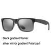 88-3p Schwarz / Silber-Spiegel-Gradient P