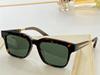 Amber framed green lenses